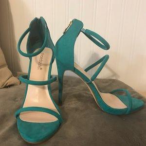 """4.75"""" heel sandals"""